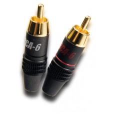 Supra RCA-6 plug 2-pack
