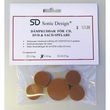 Sonic Design SD Dämpkuddar för CD/DVD/SACD