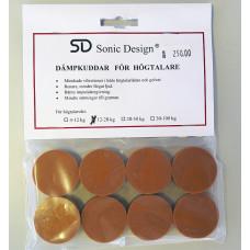 Sonic Design SD Dämpkuddar för högtalare 8-pack