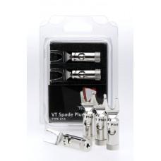 Valhalla Technology VT Spade Plug (Rhodium)