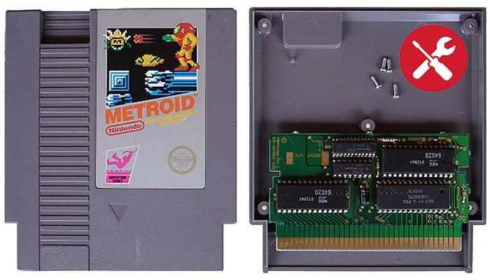 Game cartridge repairs
