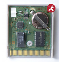 Battery replacement game cartridge